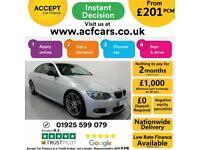 2011 SILVER BMW 330D 3.0 M SPORT DIESEL AUTO 2DR COUPE CAR FINANCE FR £201 PCM