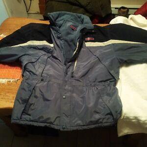 manteau d hiver pour homme doublé de polar marque nunavlit