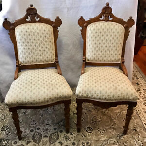 Antique Eastlake chairs