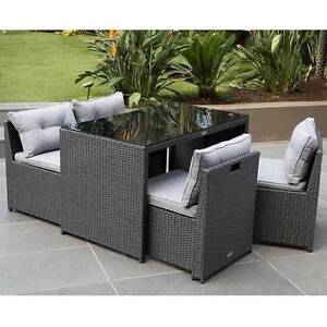 OUTDOOR LIVING MAXIM 5 PIECE DINING SETTING (New) Dandenong Greater Dandenong Preview