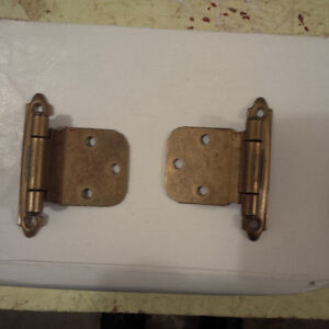 Brass Hinges with screws REDUCED