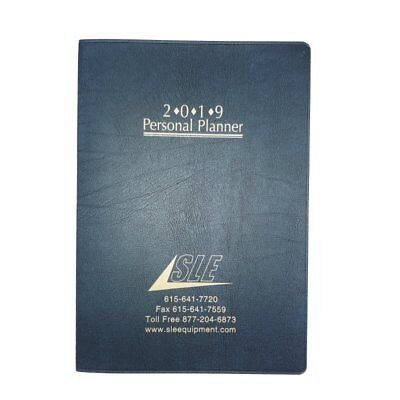 2019 Academic Monthly Day Daily Planner Organizer Calendar 7x10 Blue