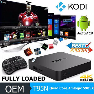 ***New!!!!T95N***Android Tv Box with Kodi Ready***