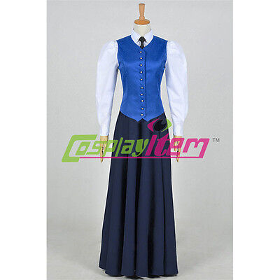 Doctor Who Series 7 The Jenny Flint Cosplay Costume Dress Halloween Costume](Jenny Halloween Costume)