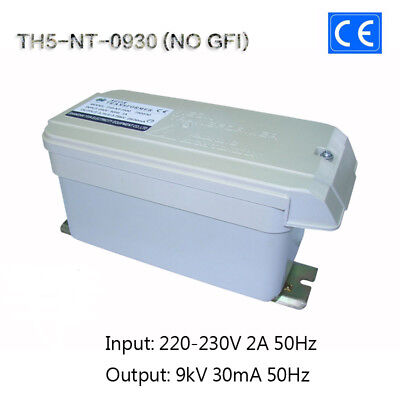 9kv30ma270w European Ce Neon Iron Core Coil Transformer Tesla Test Power No Gfi