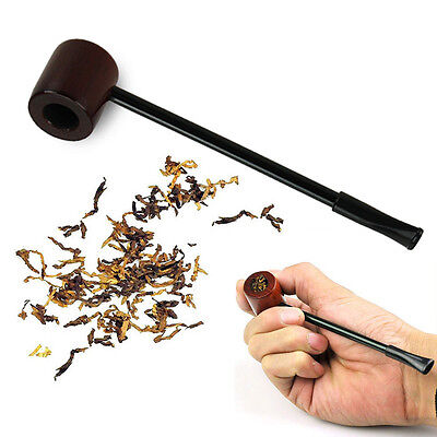 Classic Vintage Wooden Timber Smoking Pipe Tobacco Cigarette Cigar Pipes Durable