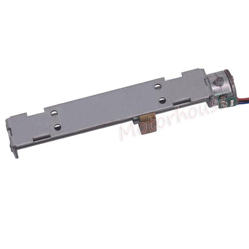 90mm Long Linear Screw Nut Slider DC 5V 2-phase 4-wire Micro 15mm Stepper Motor