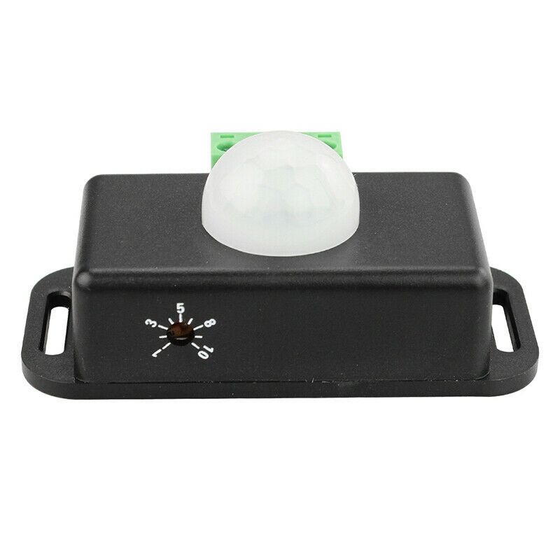 2pcs Dc 12v  24v Body Infrared Pir Motion Sensor Switch Led Light Strip Automatic