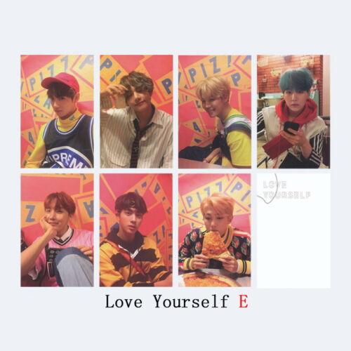 KPOP BTS Bangtan Boys Album LOVE YOURSELF Answer Photo Card Lomo Card PhotoCard