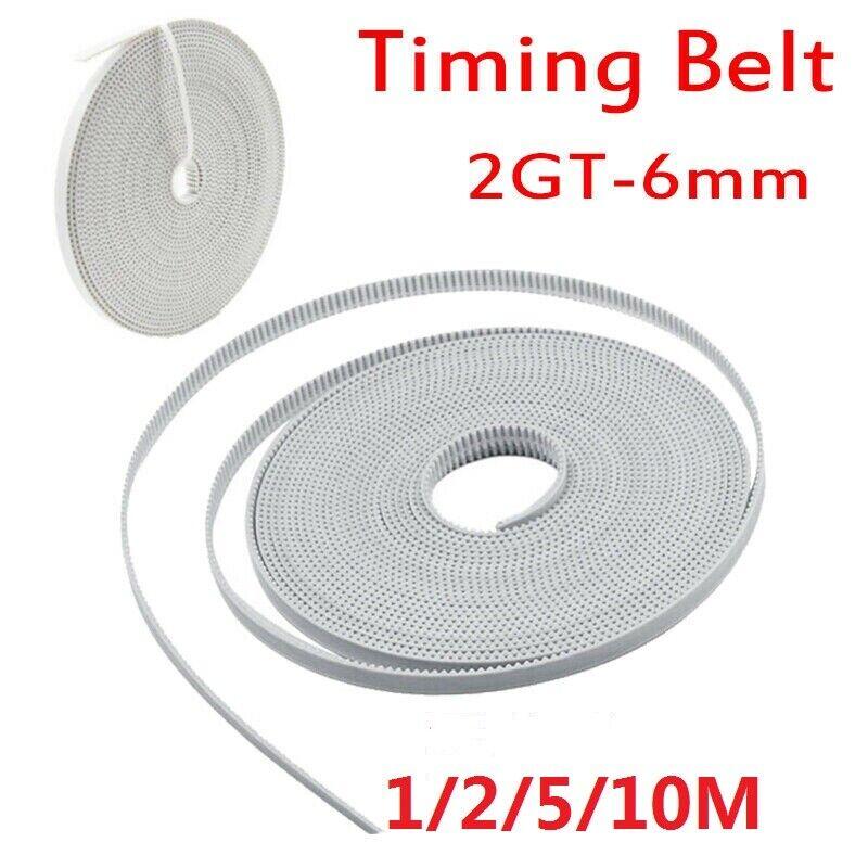 RepRap GT2 Timing Belt 6mm wide 2mm pitch 2GT for 3D Printer Prusa Mendel NEW