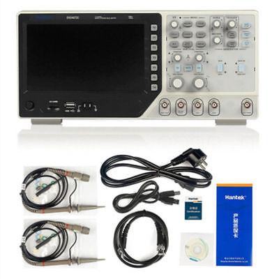 Hantek Digital Oscilloscope 70m-200mhz 2ch 1gsa25m Function Waveform Generator