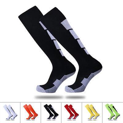 Winter Sports Mens Long Socks Thermal Ski Snowboard Stretch Sleeve Skiing Hiking