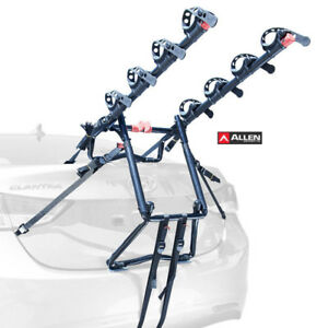 New! ALLEN SPORTS Premier Four(4) Bike Trunk Carrier-Model S104