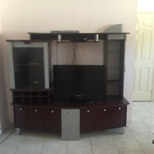 Entertainment Unit/Console Table/Coffee and End table Cherrywood