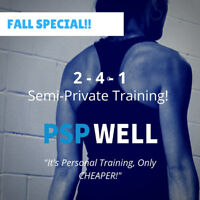 UNLIMITED Small Group Training - Fall Special 50% Off!