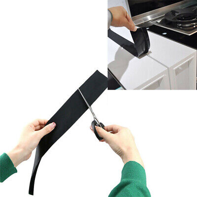 - 2Pcs Silicone Kitchen Stove Counter Gap Cover Oven Guard Spill Seal Filler Tapes
