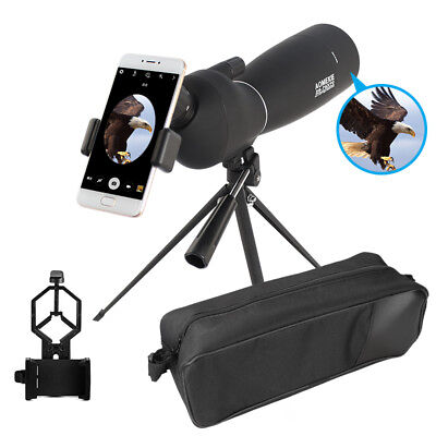 25-75X70 Spotting Scope BAK7 Astronomical Telescope With Tripod & Phone Adapter