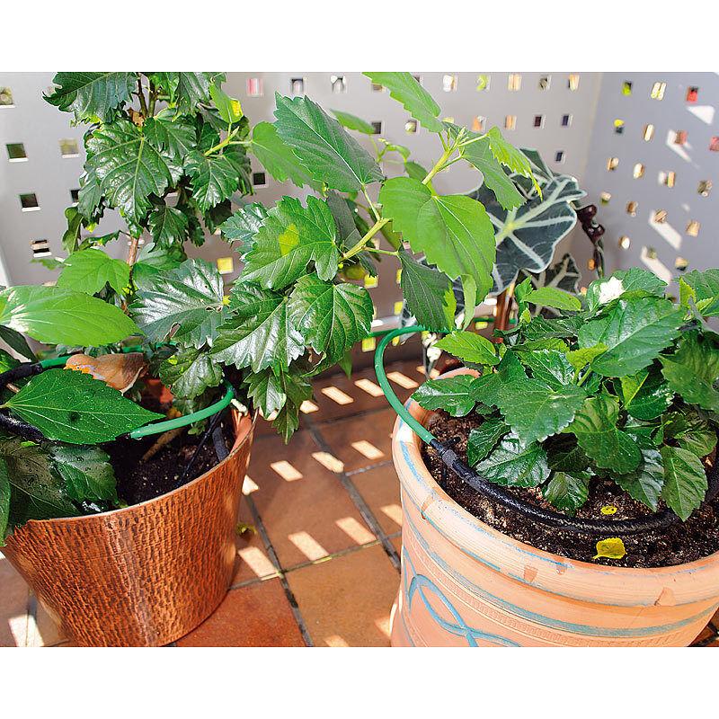 pflanzen bew sserungs system f r balkon terrasse und gew chshaus eur 16 90 picclick de. Black Bedroom Furniture Sets. Home Design Ideas