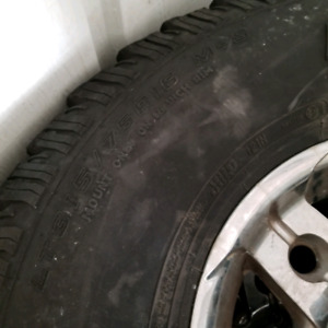 16 inch rim with tires