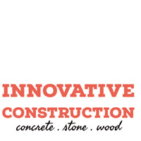 Innovative Construction- concrete. stone. wood