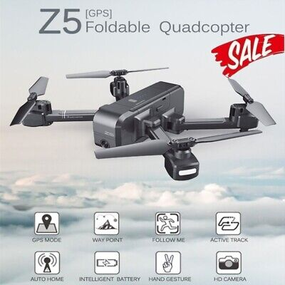 SJRC Z5 Foldable Brushed GPS RC Drone 5G WiFi FPV 1080P Camera Quadcopter Gift