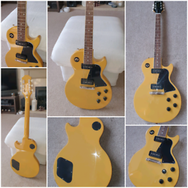 Epiphone Inspired by Gibson Les Paul Special TV Yellow 2020. New.