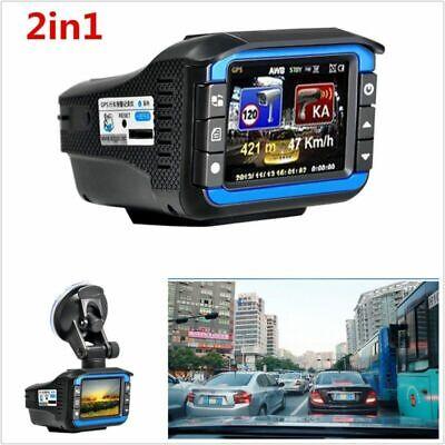 مكافحة رادار ليزر سرعة الكاشف 1080P سيارة DVR مسجل فيديو داش كاميرا ليلة