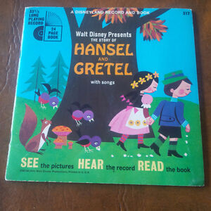 Four Read-Along Books and Records, 33 1/3 RPM Kitchener / Waterloo Kitchener Area image 4