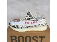 Adidas Yeezy zebra U.K. 8