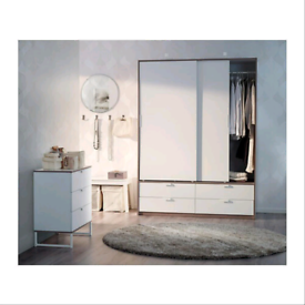 IKEA TRYSIL Wardrobe sliding doors/4 drawe