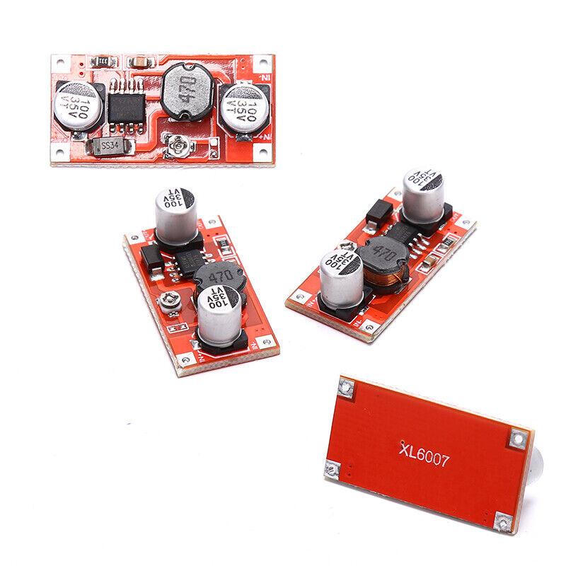 XL6007 3V 5V 9V 12V to 24V Output Adjustable DC-DC Boost Modul_fd