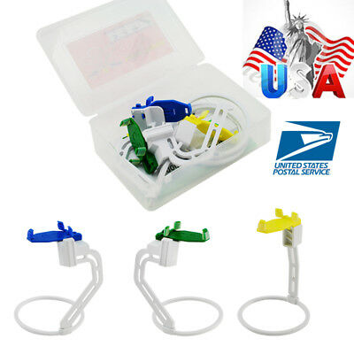 3pcs Dental X-ray Film Sensor Positining System W Clamp Positioner Holders Usa