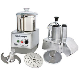 Robot Coupe R602 Combination Continuous Feed Food Processor