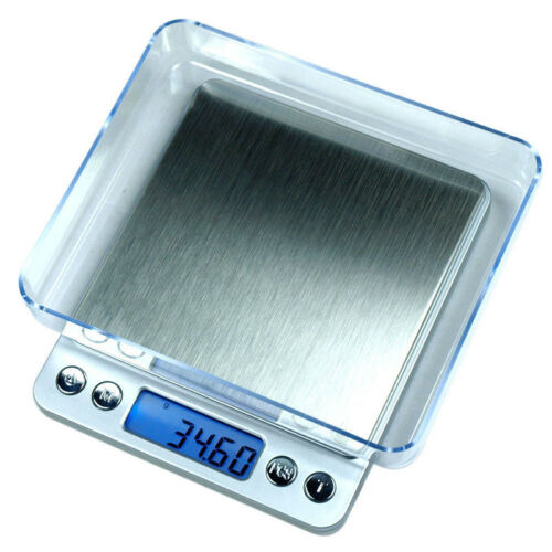 FDA Digital Jewelry Precision Scale w/ Piece Counting ACCT-500 .01 g Accuracy
