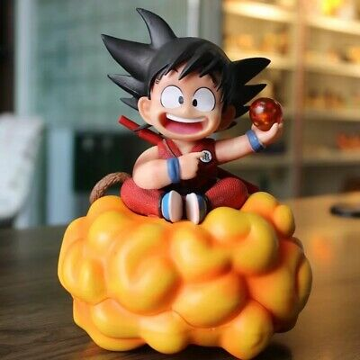 Dragon Ball Z GK Child Son Goku On Somersault Cloud Resin Figure In Box Yellow - Cloud Ball