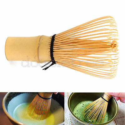 Ceremony Bamboo Chasen Japanese Powder Whisk Green Tea Preparing Matcha Brush