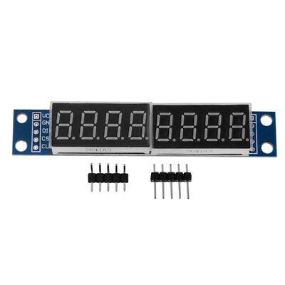 Max7219 Led Dot Matrix 8-digit Digital Display Module Dc 5v For Arduino Y3m6
