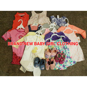 BRAND NEW BABY GIRL CLOTHING AND SHOES!