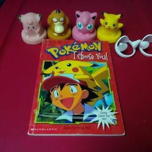 Pokémon book and Character Stampers