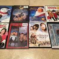 9 Christmas DVDs (some brand new)
