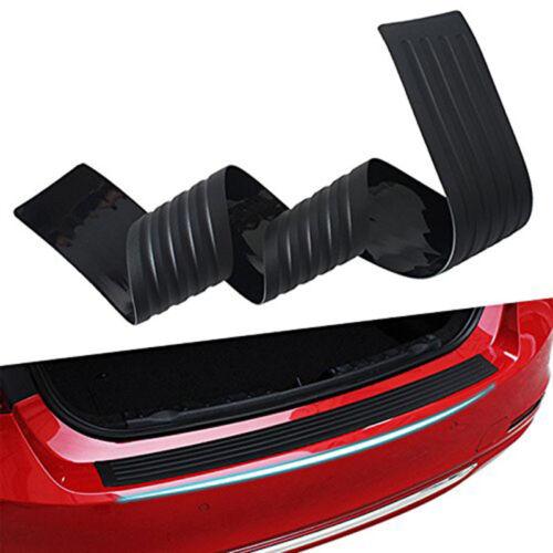 Car Parts - Universal Soft Car Sill Plate Bumper Guard Protector Rubber Pad Cover Trim Cover