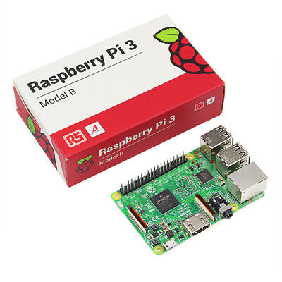 Raspberry PI 3 Model B 1.2GHz 64Bit WIFI Motherboard PC Computer