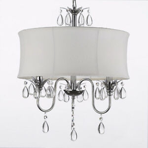 NEW IN BOX-MODERN DRUM STYLE CHANDELIER-REDUCED!!!
