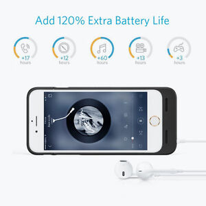 Phone 6 6S Battery Case, Anker Ultra Slim Extended Battery Case Cambridge Kitchener Area image 5