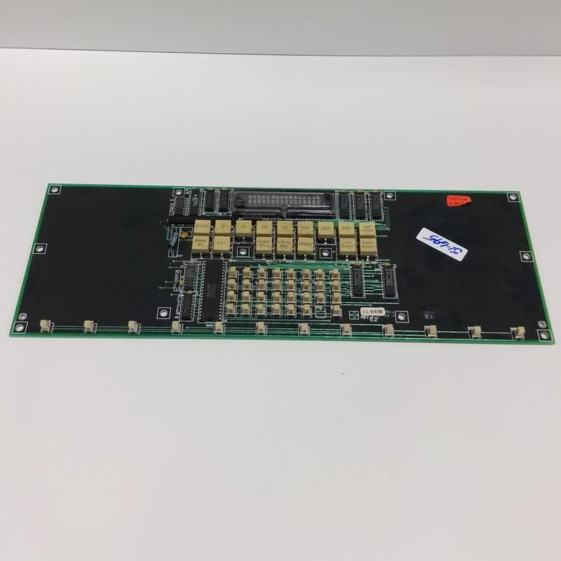 GOULD MODICON CONTROL BOARD INTERFACE PANEL CL-810186