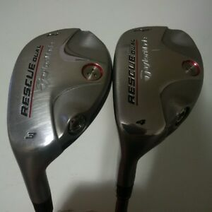 Taylormade Left Rescue Dual Hybrid - #4