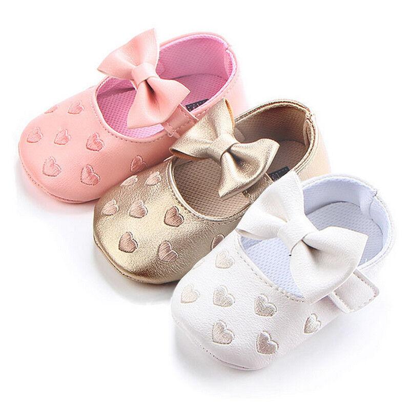 Zapatos Calzado De Bebe Niñas Casuales Corona Brillante Bebes Recién Nacidos
