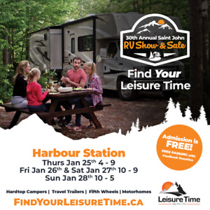 30th Annual RV Show & Sale - Find Your Leisure Time