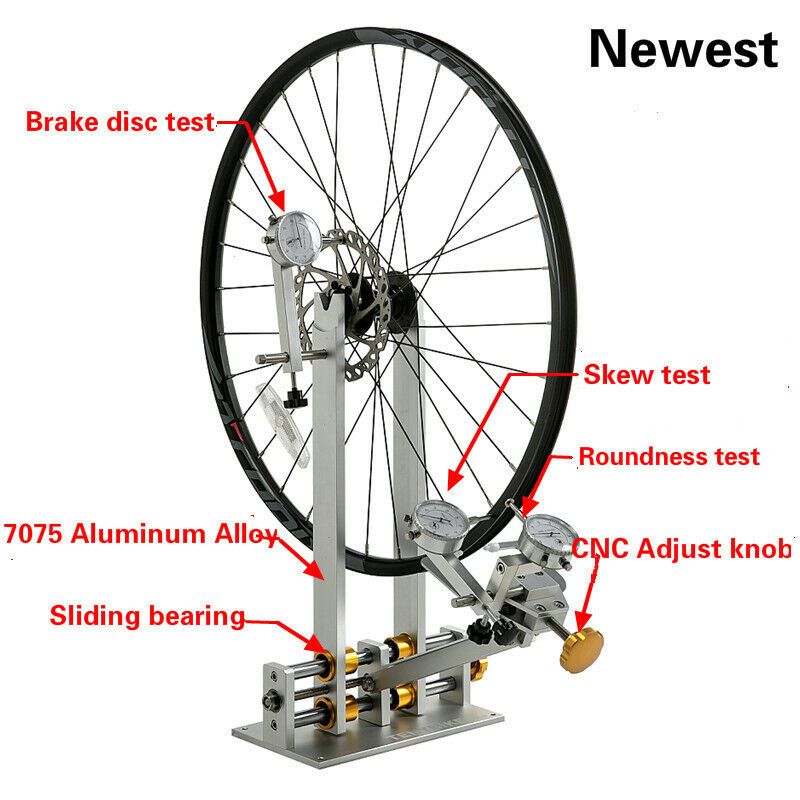 Bicycle Wheel Tuning Bicycle Adjustment Rims MTB Road Bike Bicycle Repair Tools (New - 259 USD)