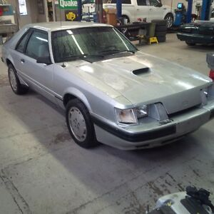 parting out 1984 mustang svo